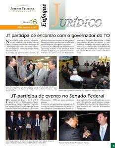 Enfoque Jurídico Josenir Teixeria